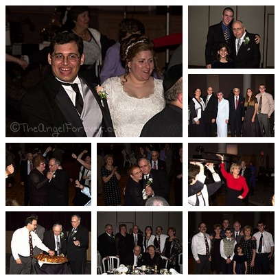 Family at our wedding
