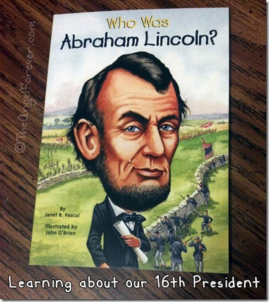 Abraham Lincoln Book for kids