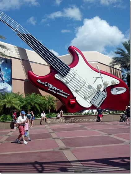 Rocking Architecture at Hollywood Studios