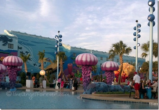 Undet the sea with Nemo - Art of Animation Resort