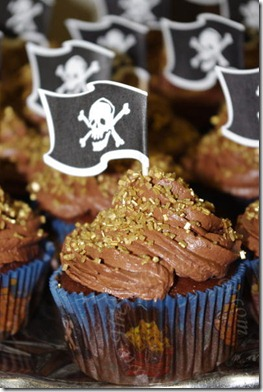 Pirate Cupcakes Ready
