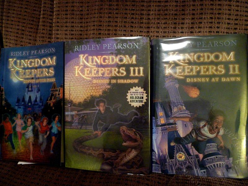 Three of the Kingdom Keepers BooksKingdom Keepers Books