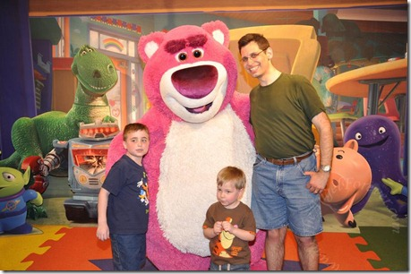 The Boys and Lotso - March 2011