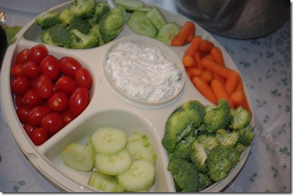Veggies and Dill Dip