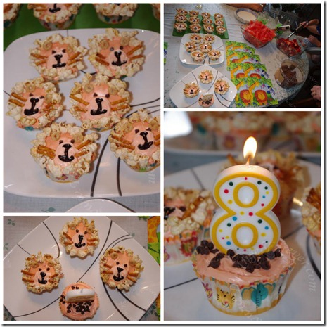 Lion Cupcakes