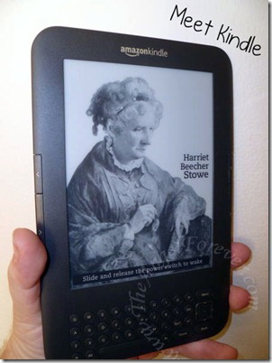 Our new Kindle