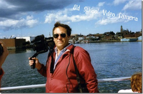 Whale Watching - Old Video Camera