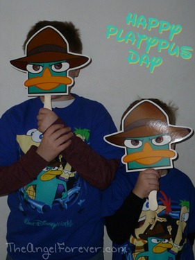 Agent P ready for Platypus Day