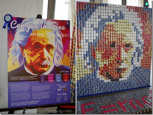 Canstruction - Can You Imagine an End to Hunger
