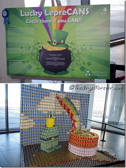 Canstruction - Lucky LepreCANS