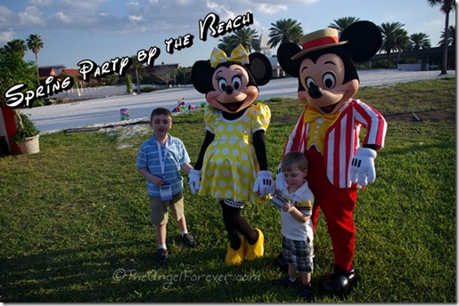 Party along the Grand Floridian Beach