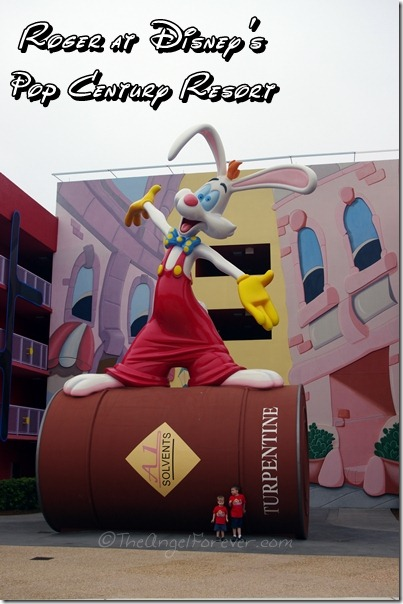 Roger Rabbit at Disney's Pop Century Resort