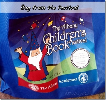 Bag from The Albany Children's Book Festival