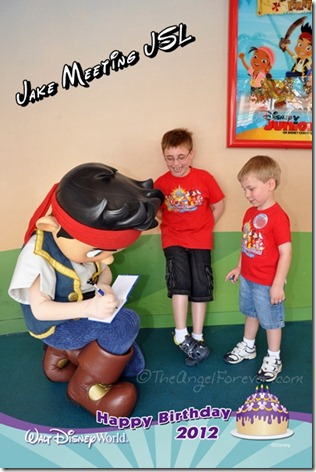 Jake the Pirate at Hollywood Studios