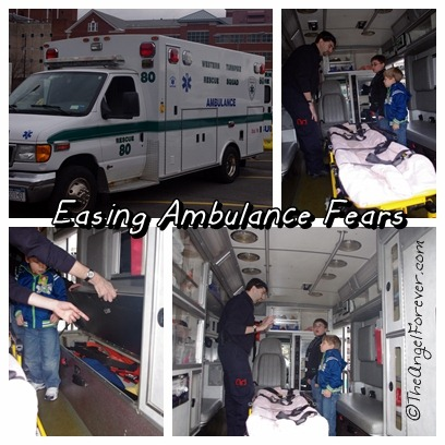 Learning about the ambulance