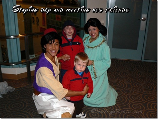 Meeting Aladdin and Jasmin