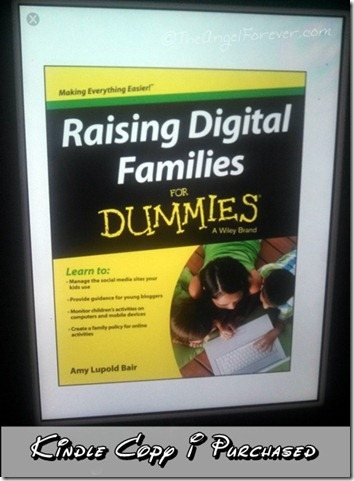 Raising Digital Families For Dummies for Kindle