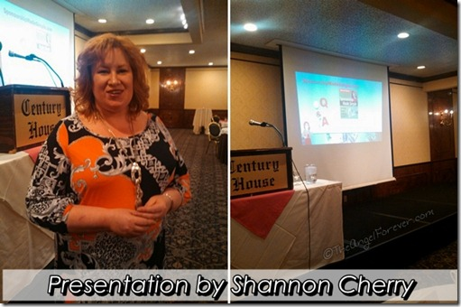 Shannon Cherry at the Women TIES lunch
