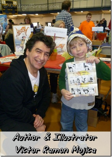 Author and Illustrator Victor Ramon Mojica