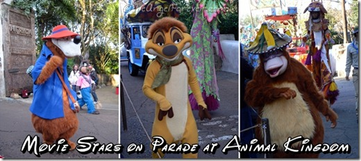Disney Movie Stars on Parade at Animal Kingdom