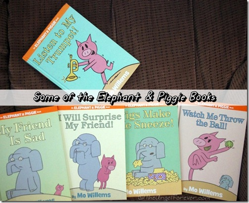 Some Elephant & Piggie Books by Mo Willems