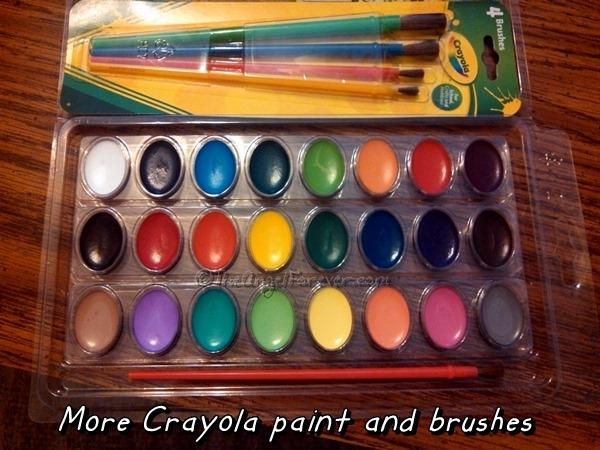 Crayola Watercolors
