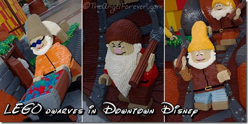 LEGO Seven Dwarves in Downtown Disney