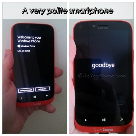 The polite Windows Smartphone