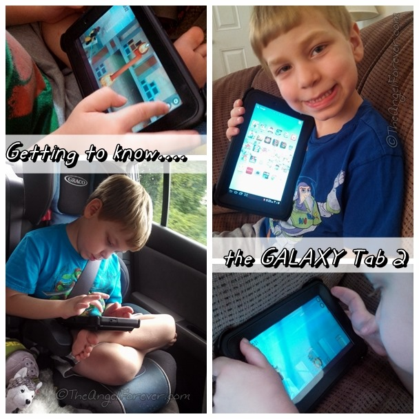 Getting to know the Galaxy Tab 2