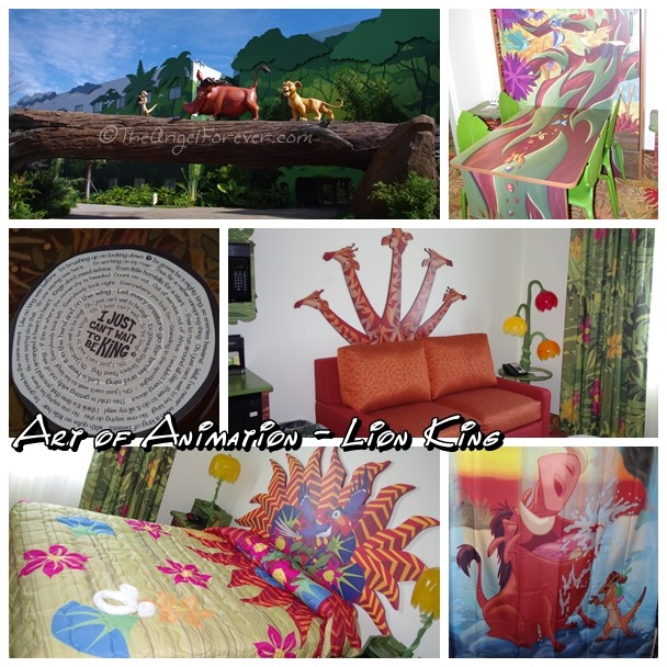 Lion King at Art of Animation Resort