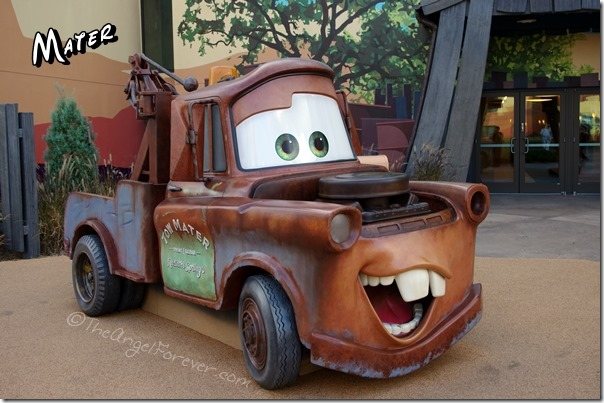 Mater at Art of Animation Resort
