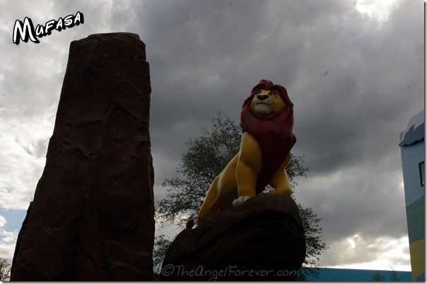 Mufasa at Art of Animation Resort