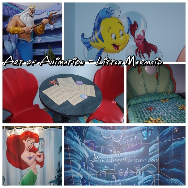 The Little Mermaid at Art of Animation Resort