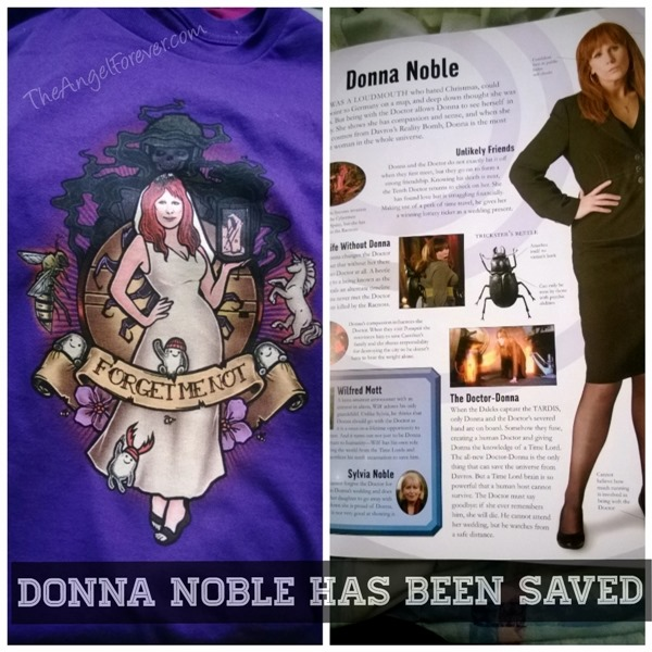 Donna Noble has been saved - Doctor Who