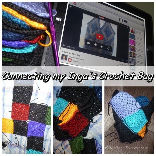 Making the Inga's Crochet Bag