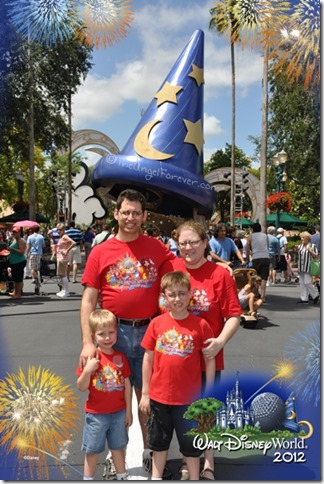 Magical Disney memories with my family