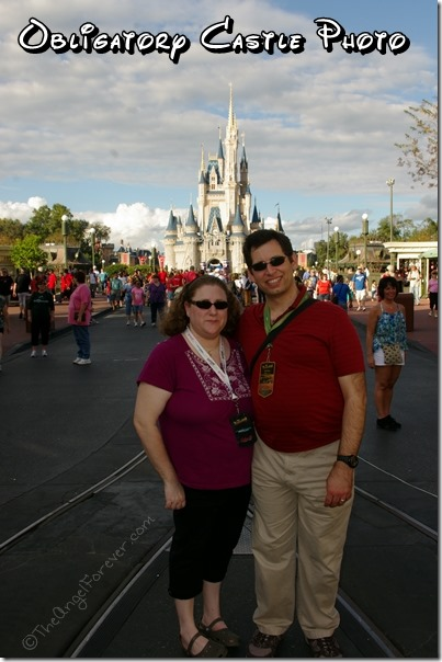 Photo by Cinderella's Castle at the Magic Kingdom