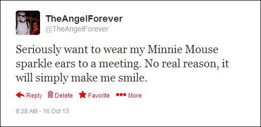 Minni Ears Tweet