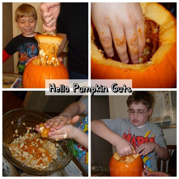 Pumpkin Guts Central
