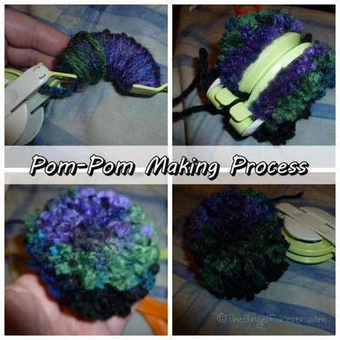 Pom-Pom making process