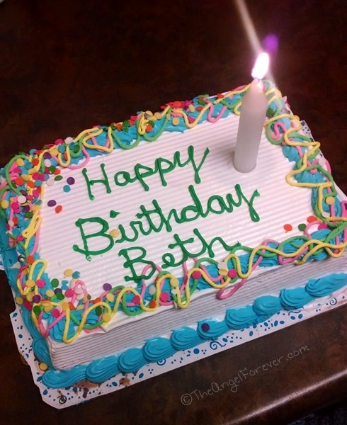 Birthday Cake And Ice Cream Images : Birthdays Come and Birthdays Go The Angel Forever