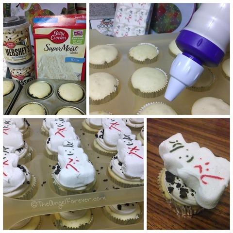Snowmen Cupcakes #shop