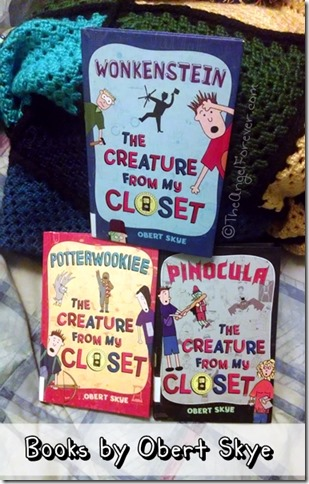 The Creature From My Closet Series by Obert Skye