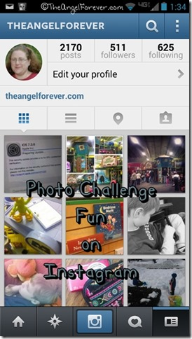 Photo Challenge Fun on Instagram