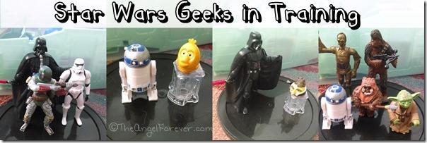 Star Wars Geeks in Training