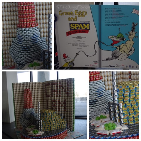 Capital Region Canstruction - Green Eggs and Spam
