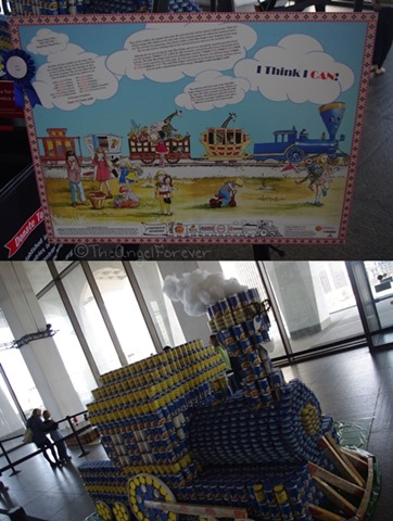 Capital Region Canstruction - I Think I Can