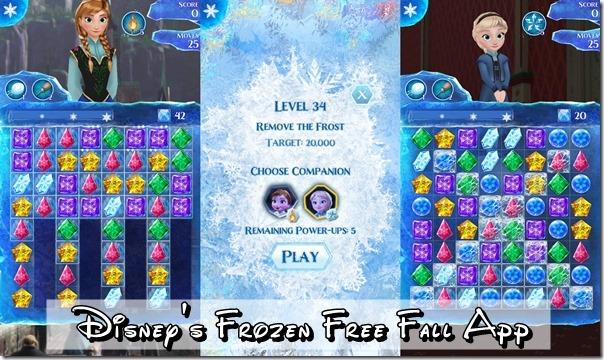 Disney's Frozen Free Fall App