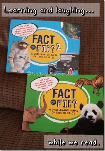 Fact or Fib books by Kathy Furgang