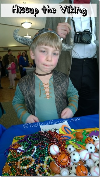 Hiccup the Viking at Purim